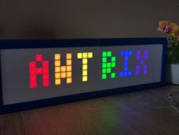 AWTRIX - Smart matrix clock