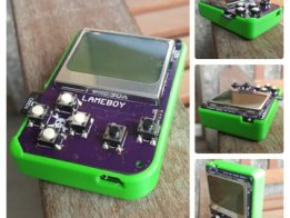 LAMEBOY - another ESP12 handheld