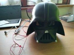 Darth Vader talking head