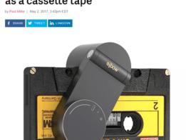 Open Source Micro Cassette Player