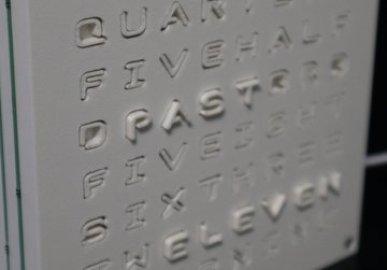Haptic Word Clock