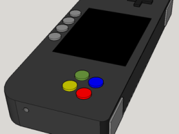 Portable Raspberry Pi gaming handheld