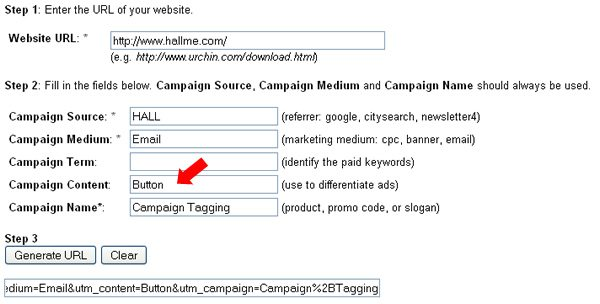 Campaign Content: (use to differentiate ads)