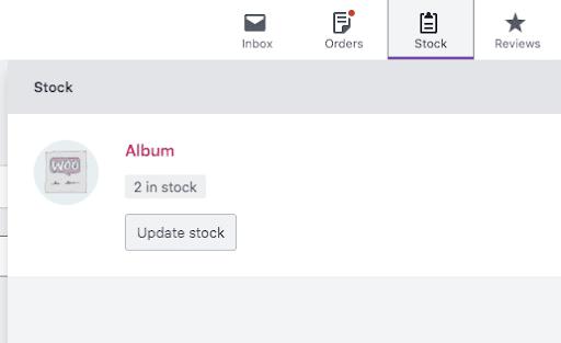 WooCommerce Activity Panel - Stock Management