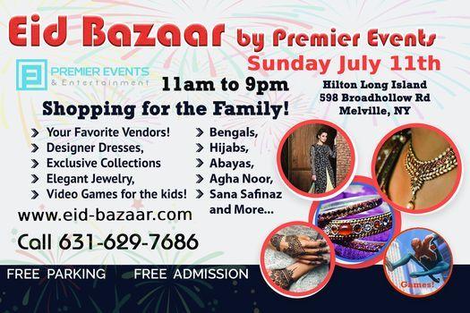 Pre-Eid Bazaar at the Hilton Long Island