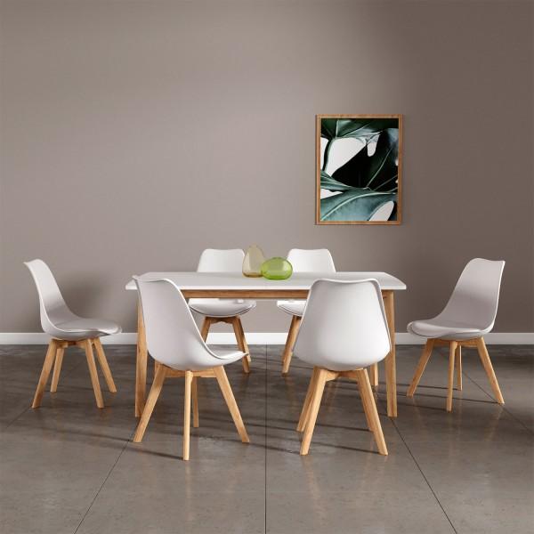 ensembles table extensible et chaises