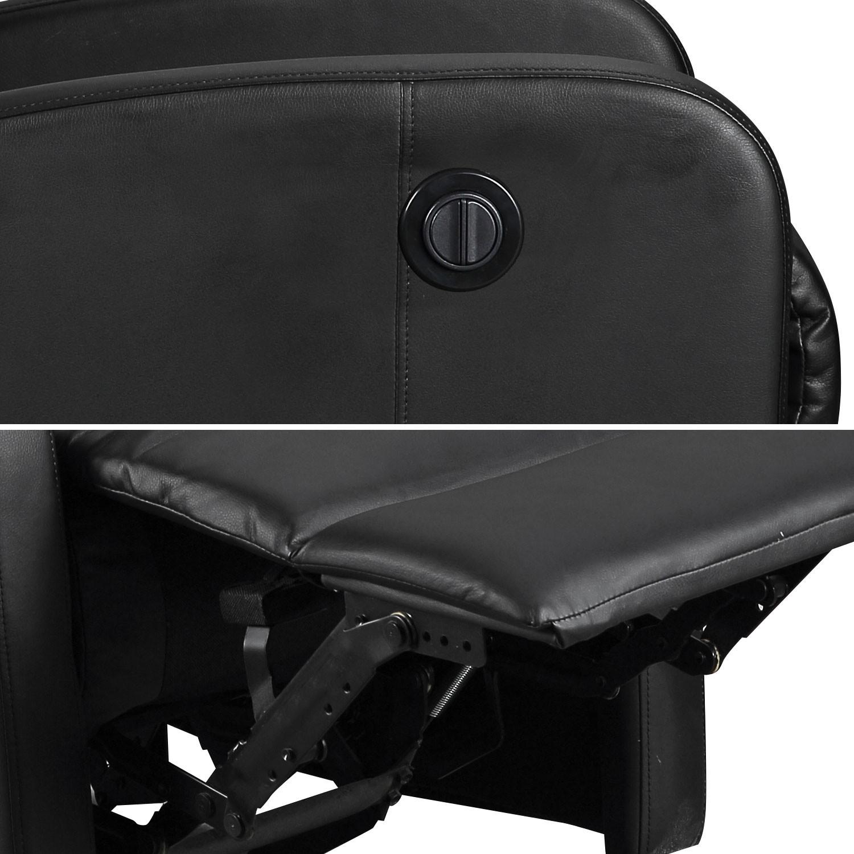 fauteuil electrique inclinable relax noir