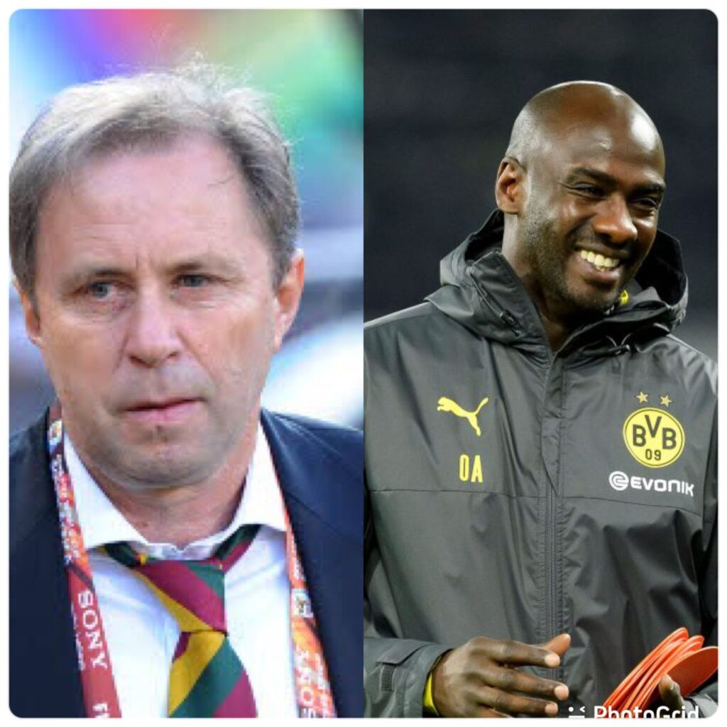 EXCLUSIVE: Otto Addo appointed Black Stars deputy Coach, set to remain with  Dortmund - Happy Ghana