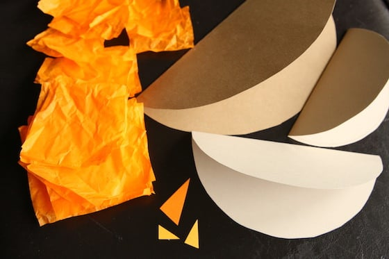 supplies for making paper robin craft