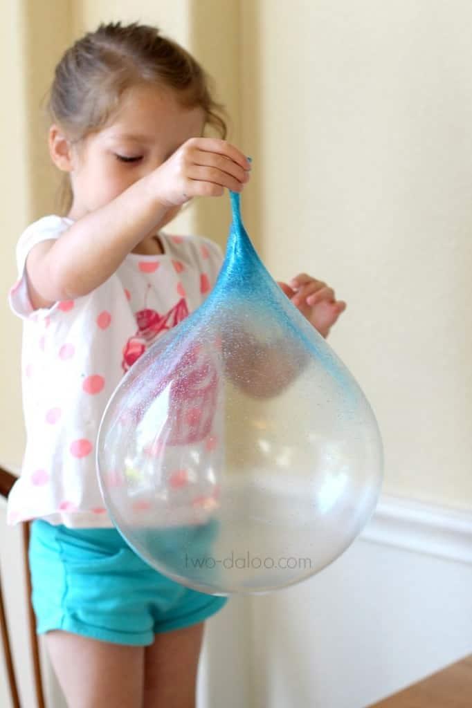 re-useable gak bubble activity