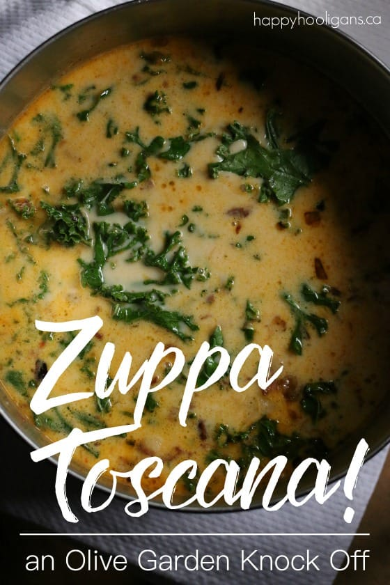 How to Make Olive Garden's Zuppa Toscana