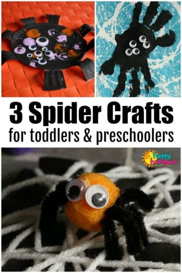 Cute and Easy Spider Crafts for Preschoolers