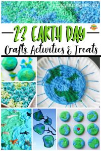 Earth Day Crafts and Activities Collage
