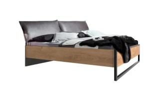 Bett Detroit in Plankeneiche Optik online bei Hardeck kaufen