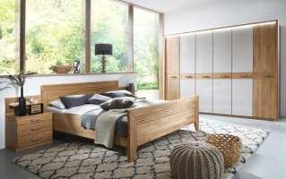 Schlafzimmer Vivien in Wildeiche natur/champagner online ...
