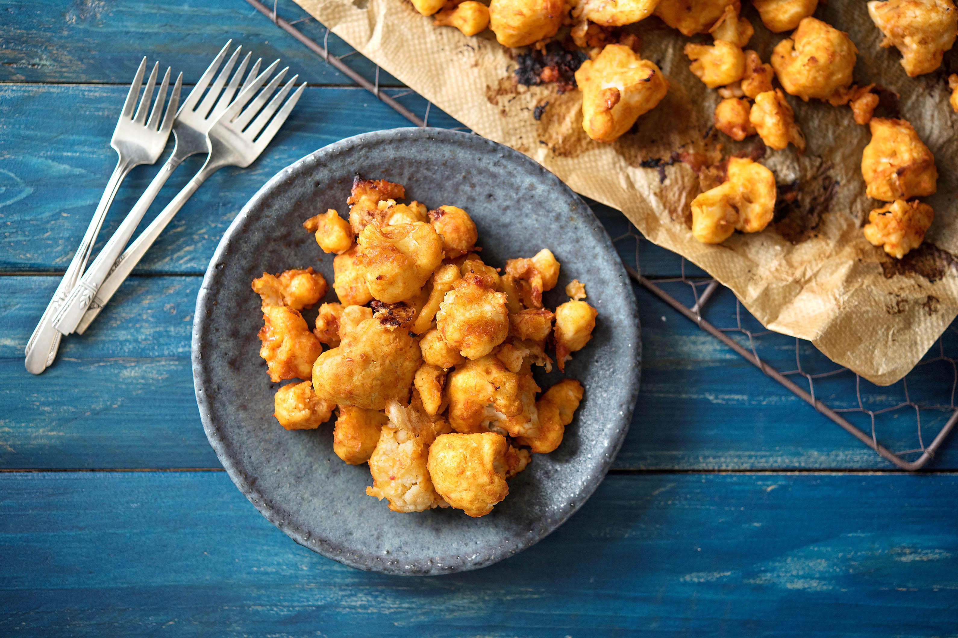 cauliflower-buffalo-wings-HelloFresh-super bowl recipes