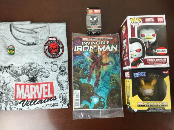 Marvel Collector Corps October 2015 Review: Villains ...