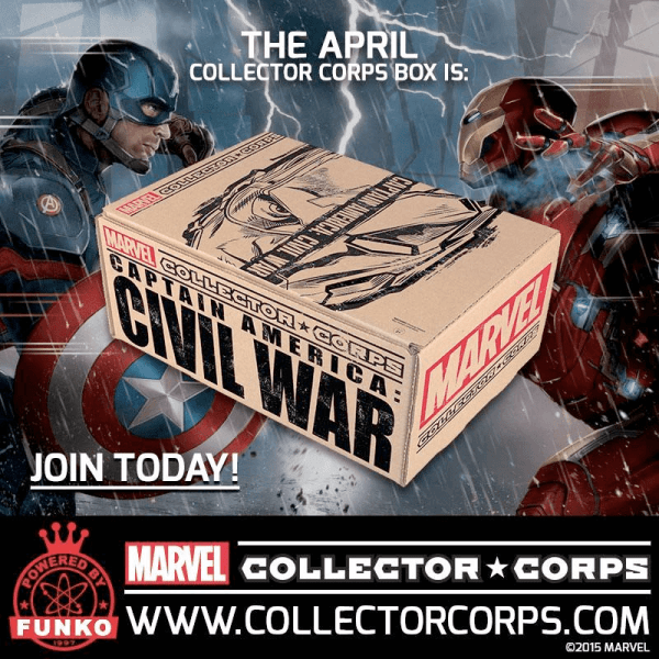 Marvel Collector Corps April 2016 Theme Spoilers - hello ...
