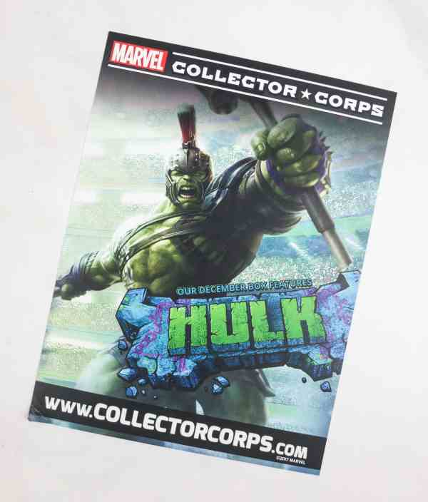Marvel Collector Corps October 2017 Subscription Box ...