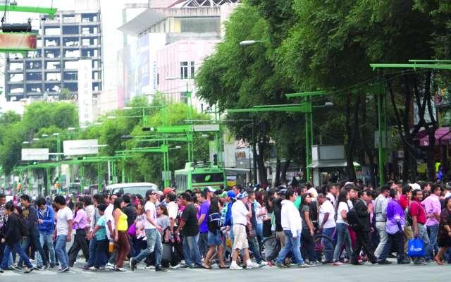 El Eje Central es una de las vialidades donde frecuentemente se lleva a cabo este ilícito. FOTO: CUARTOSCURO/ARCHIVO