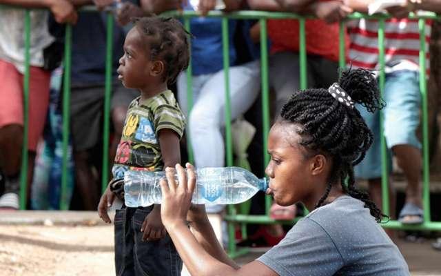 SOLICITUD. La Comar señala que los menores dejan sus países por las malas condiciones de vida. foto: Marcopolo Heam