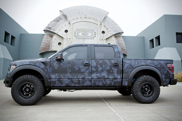 Bubba Watsons Bulletproof Ford Raptor by Oakley  3