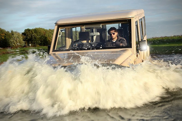 Amphibicruiser 4WD Amphibious Vehicle 4