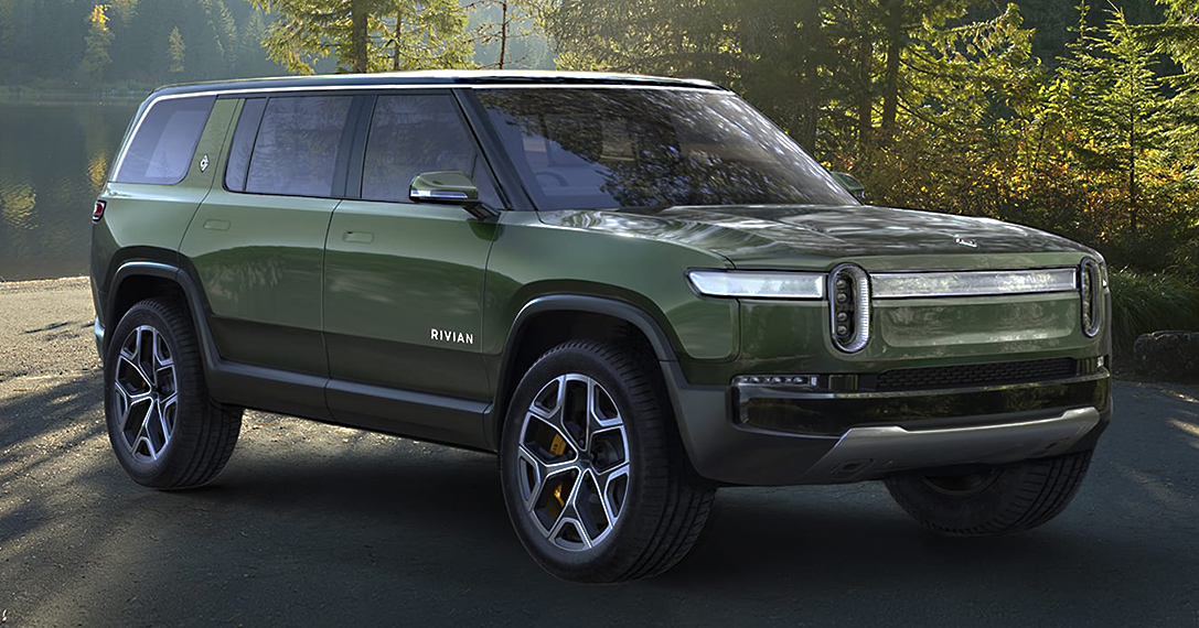 Rivian R1S All Electric SUV HiConsumption
