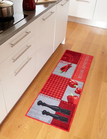 tapis de cuisine spicy moderne et de