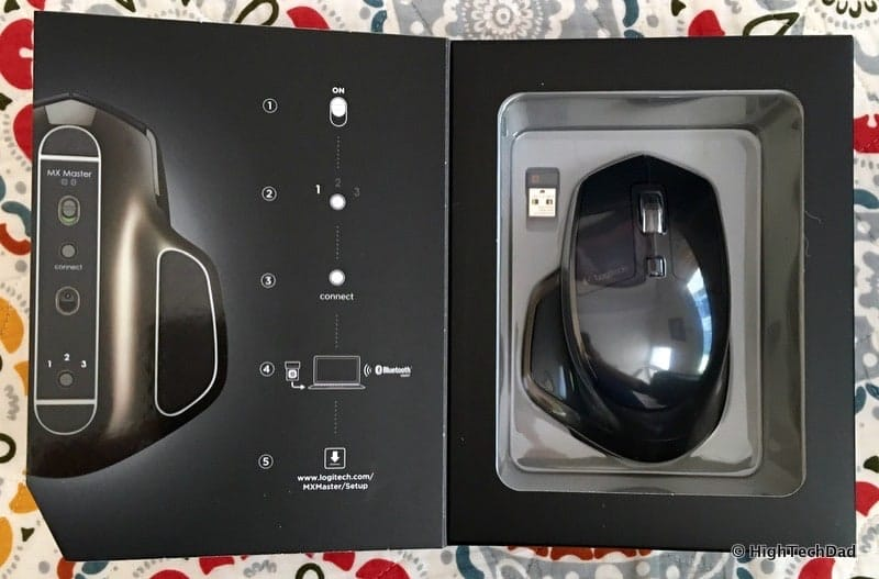 HighTechDad #LogiSmiles Father's Day Giveaway - MX Master Wireless Mouse