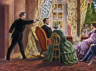 Image result for abraham lincoln shot
