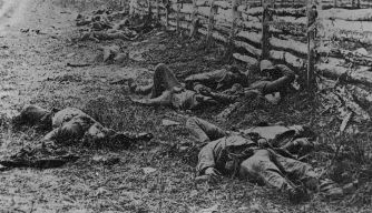 dead-soldiers-from-battle-of-antietam - Battle of Antietam ...