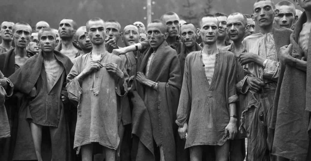 ebensee, austria, concentration camp, survivors, nazis, 80th division, u.s. third army, 1945