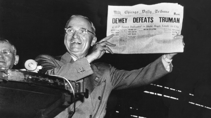 list 7 Failed Predictions from History Harry Truman