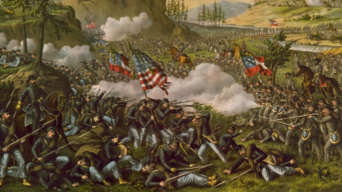 Image result for The Battle of Chickamauga