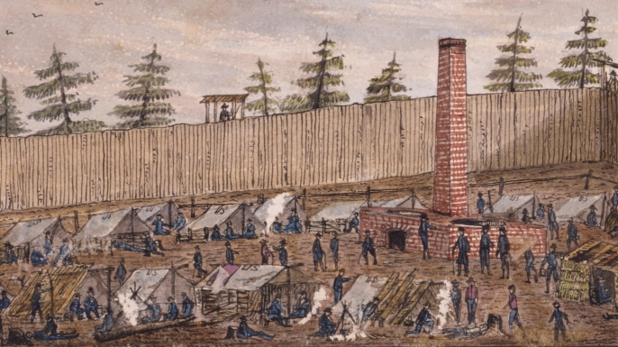Camps Us Prison War Civil