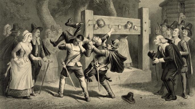 Image result for Salem Witch Trials