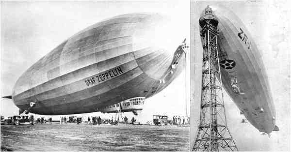 Photographing the Golden Age of Zeppelin Flight