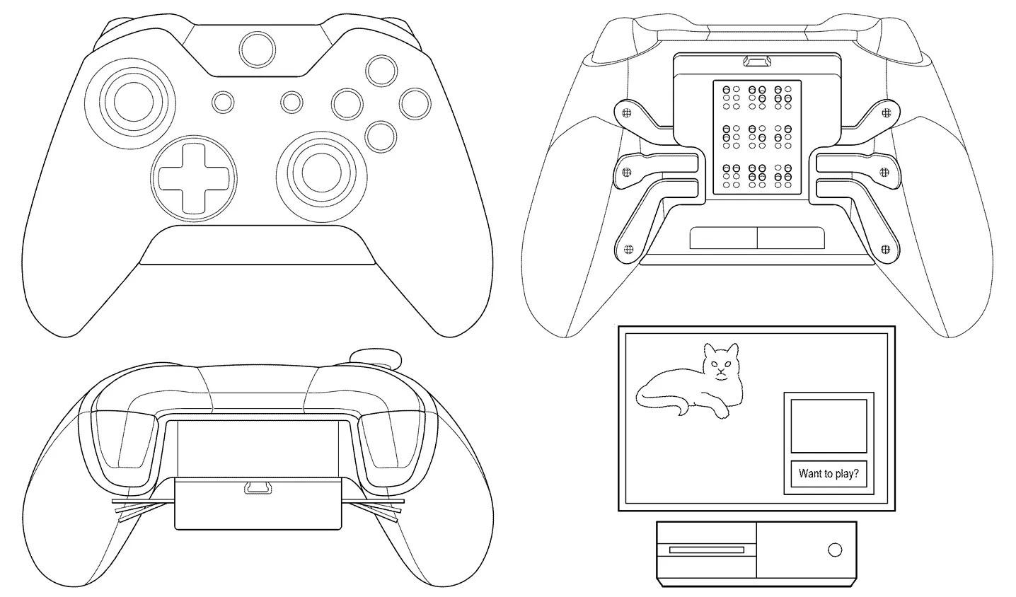 Microsoft Patenta Un Mando Con Braile Para Xbox One