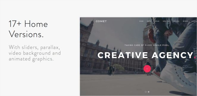 Comet - Creative Multi-Purpose WordPress Theme - 4