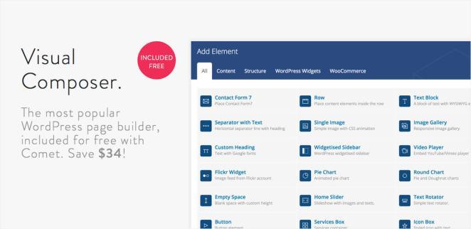 Comet - Creative Multi-Purpose WordPress Theme - 5