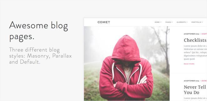 Comet - Creative Multi-Purpose WordPress Theme - 6