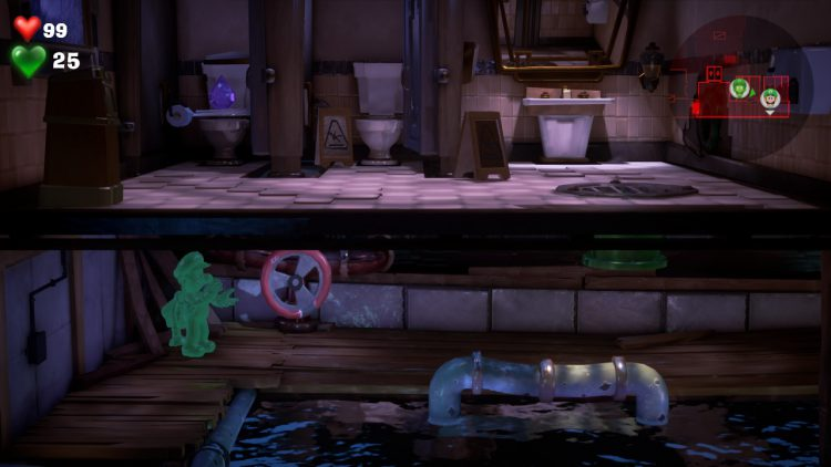 Image showing where to find the Purple Gem in Floor 3.