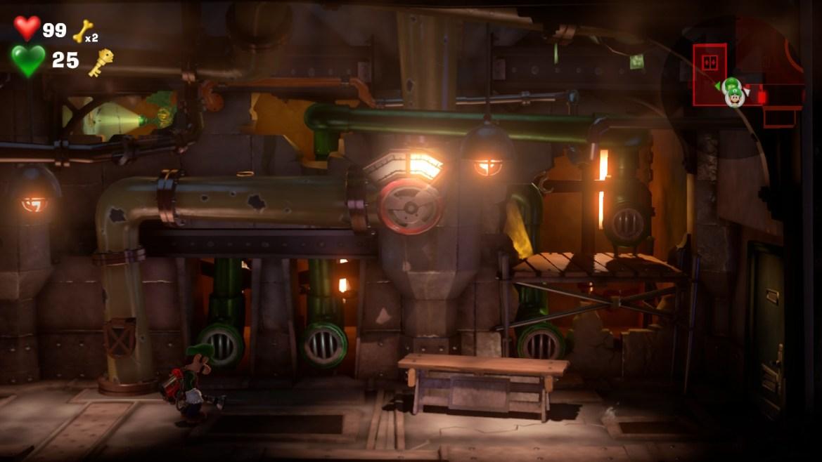 Yellow Gem Location Elevator Hall - Luigi's Mansion 3 - Guida: come trovare tutte le gemme dei piani B2 e B1