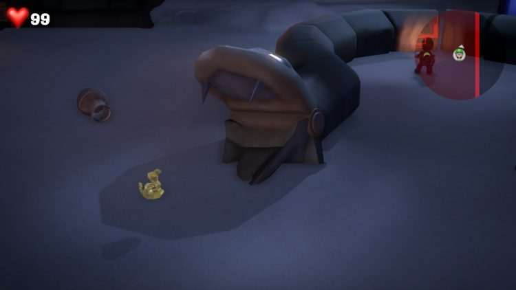 Image showing the Yellow Gem Location: Stone Serpent in Sandy Grand Hall.