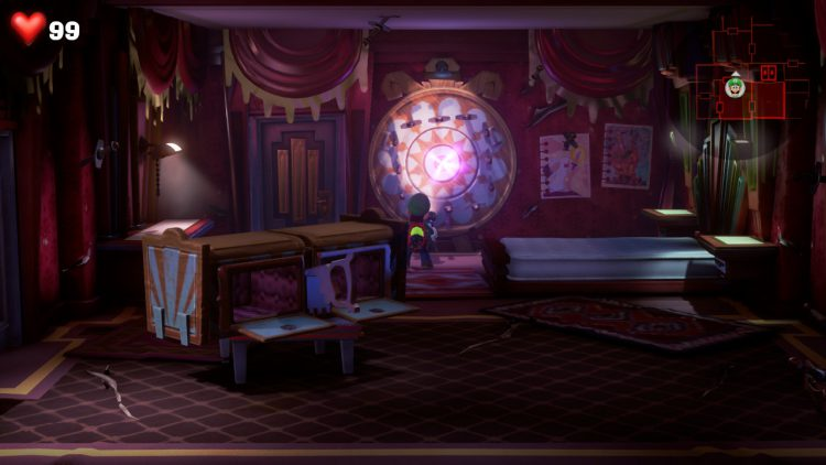 Image showing the Red Gem Location Bladed Bedroom.