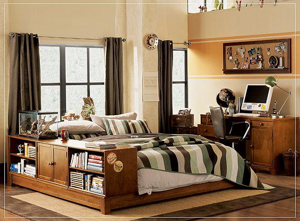 promote: Teen Room Ideas 2 - Boys' Rooms on Small Room Ideas For Teenage Guys  id=11676