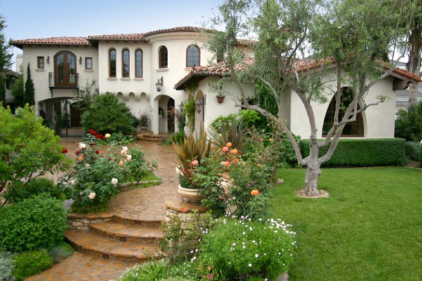 spanish style homes with garden Spanish Style Homes