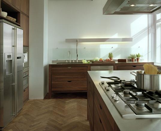 Modern Kitchen Design Red
