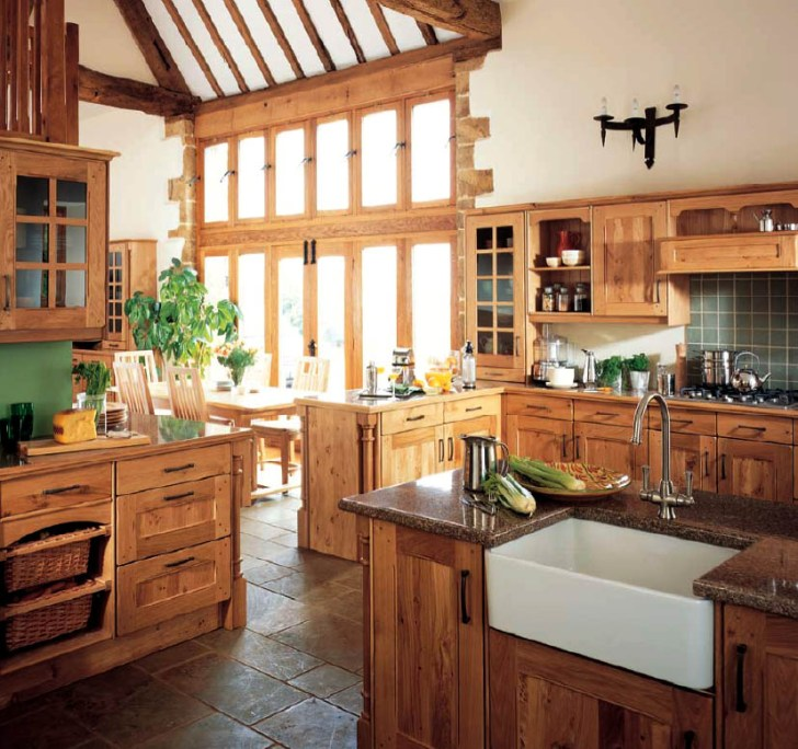 These English Country Style Kitchen Sets County